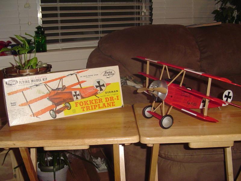 My Sterling Fokker DR-1 Fokker14