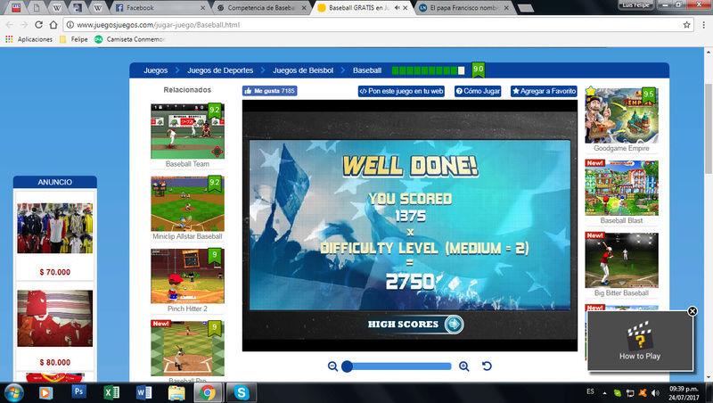 Competencia de Baseball Beisbo11