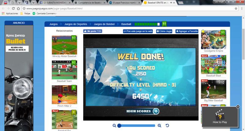 Competencia de Baseball Beisbo12