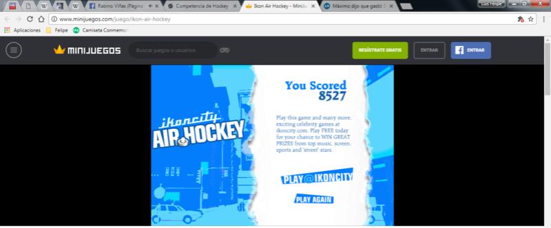 Competencia de Hockey Hockey10
