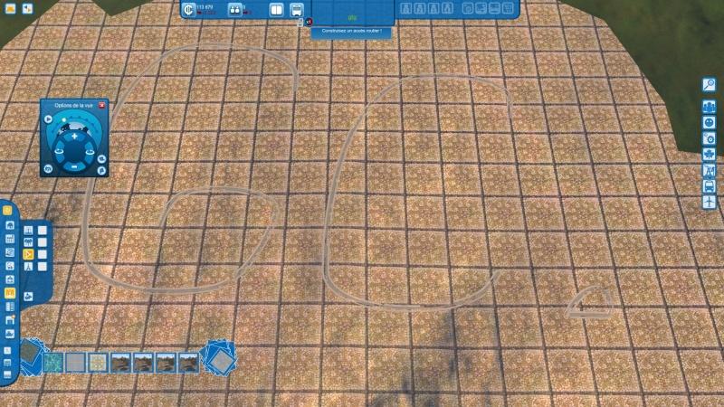 """Comment réaliser des lignes étroites avec les """"textures de places"""" Gamesc30"""