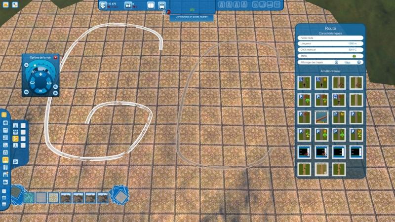 """Comment réaliser des lignes étroites avec les """"textures de places"""" Gamesc33"""