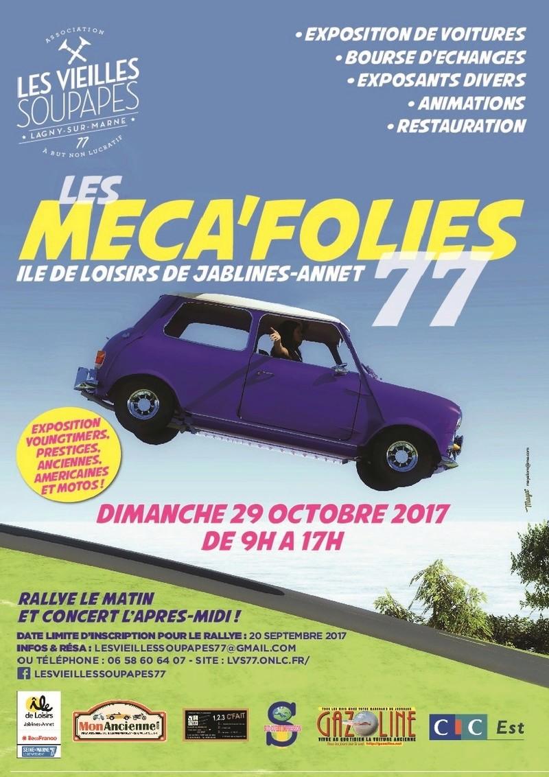 MECA'FOLIES 77 Affich10