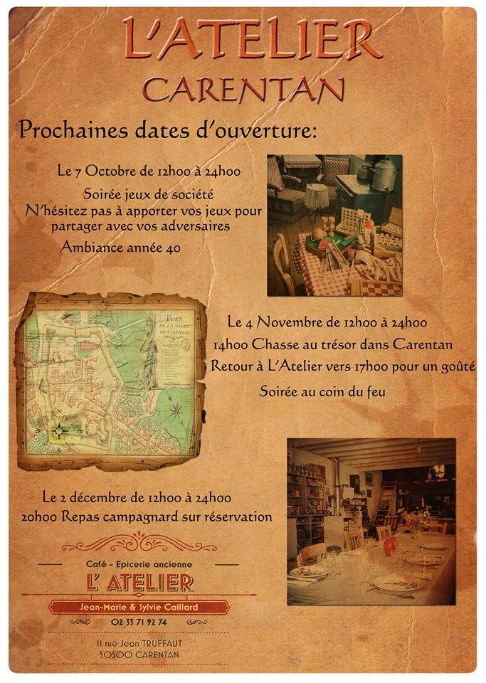 L'Atelier Carentan 22154510