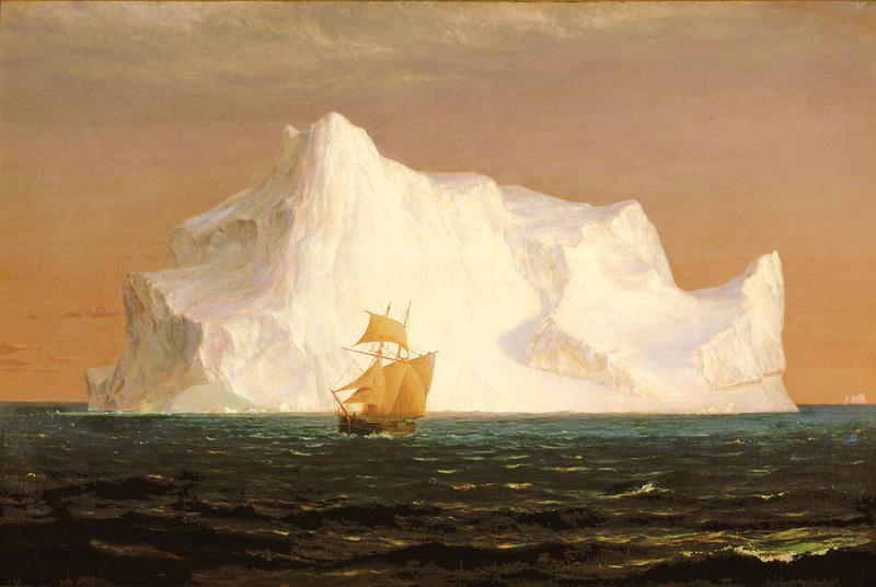 Frederic Edwin Church (1826-1900) Theice10