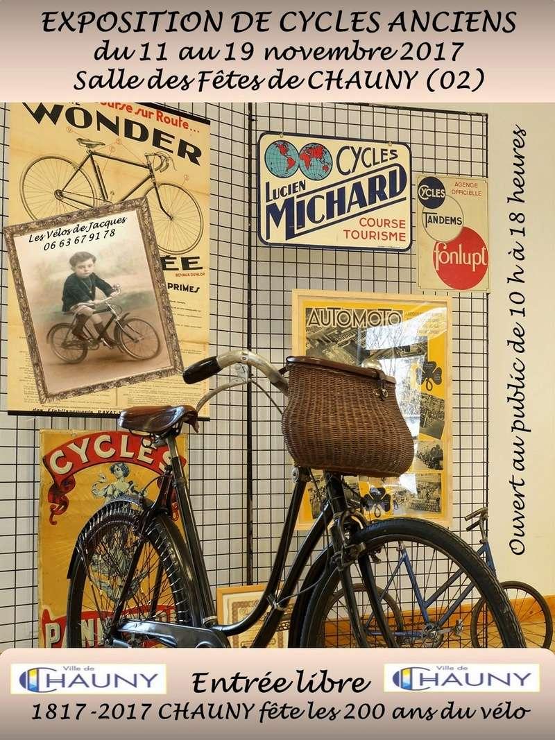 Chauny fête les 200 ans du Vélo ! Affich10