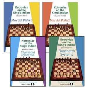 Kotronias on the King's Indian Vol 1 to 5 - Vassilios Kotronias (5 books, Paperback) Cb063510