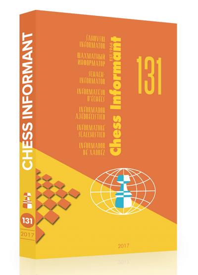 Chess Informant 132 - Original CD (pgn,cbv & ctg) Ci-13110
