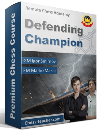 Defending Champion – GM Igor Smirnov Defend10