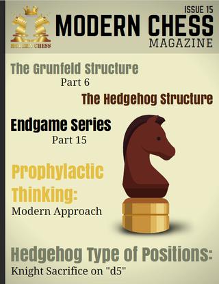 Modern Chess Magazine Issue 15 Mcm1510