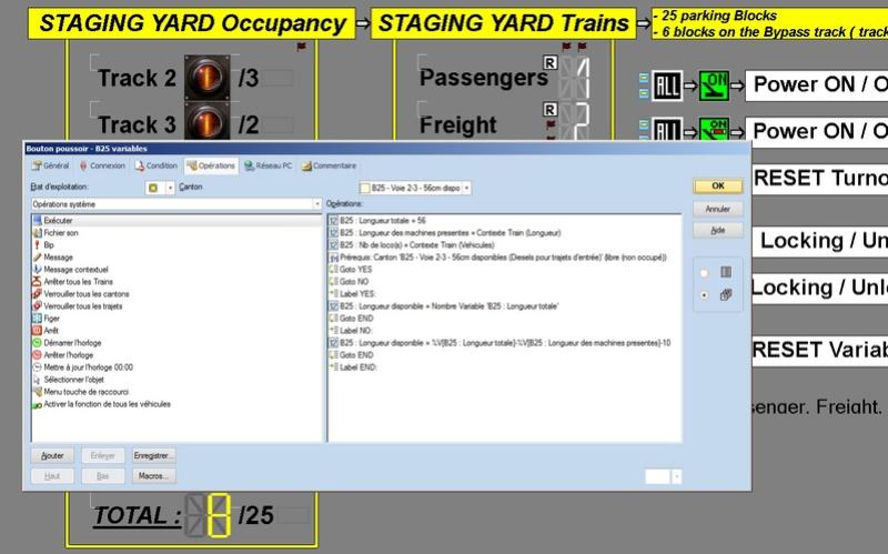 Utilisation des variables avec TCV9 Variab10