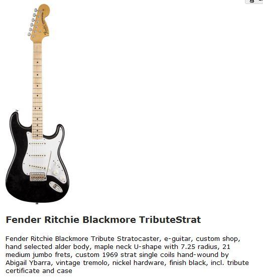 Ritchie Blackmore sa technique et son matériel - Page 10 Blackm10