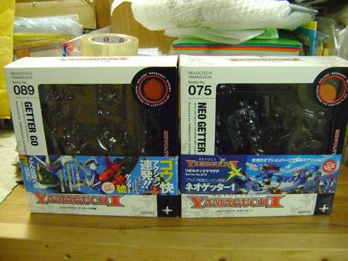 LOTTO GETTER ROBOT NEO e GO - KAIYODO YAMAGUCHI Lotto_19