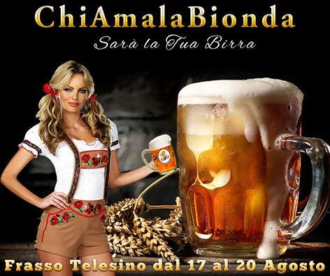 """Festa della Birra """"ChiAmalaBionda"""" Chiama10"""