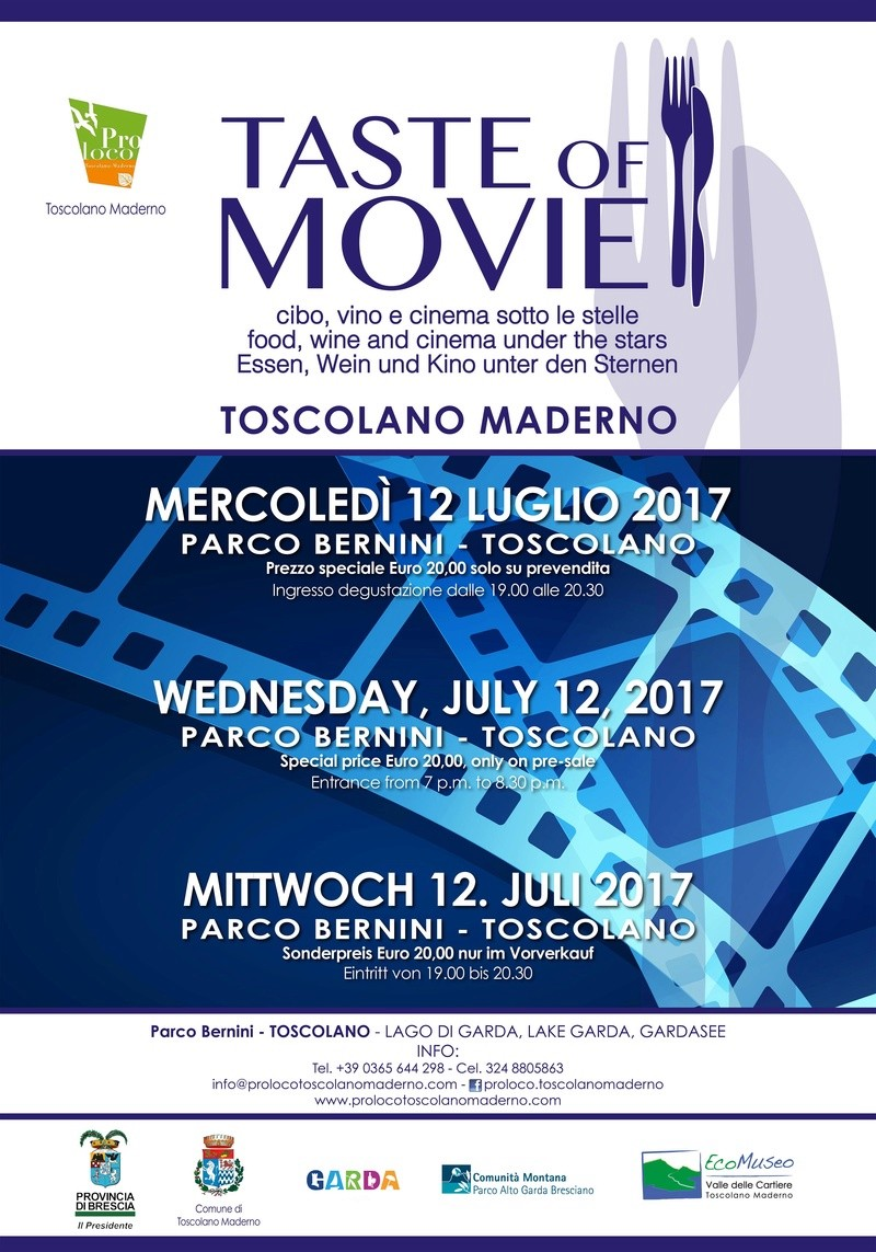 Taste of Movie a Toscolano Maderno Locand10