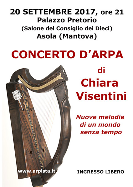 CONCERTO D'ARPA di Chiara Visentini Locand12