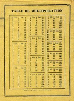 Le premier et le dernier de la classe  - Page 2 Tablem10