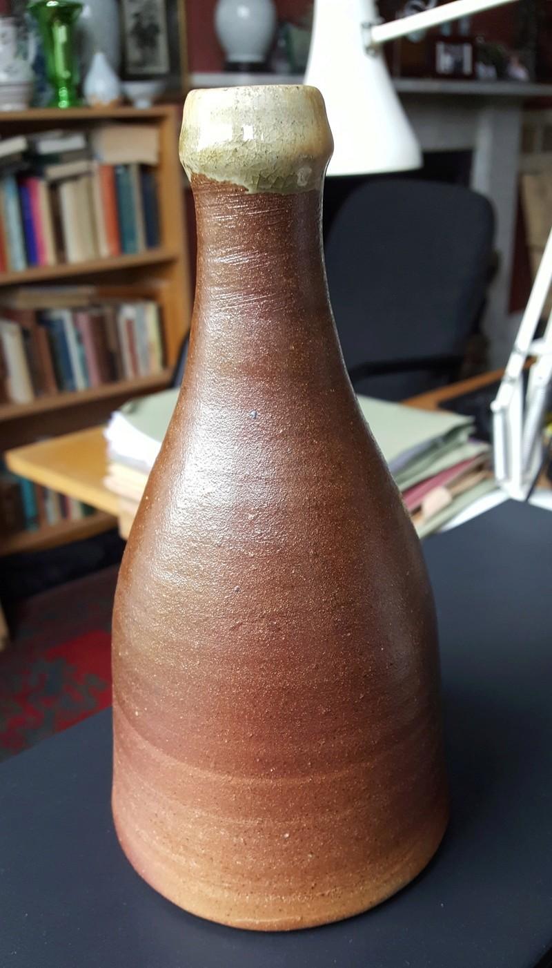Wood-fired Bottle Vase 20170712