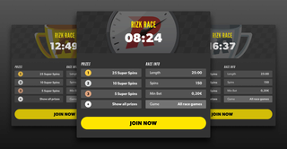 Double Prize Pool Races At Rizk Casino Rizk_r12