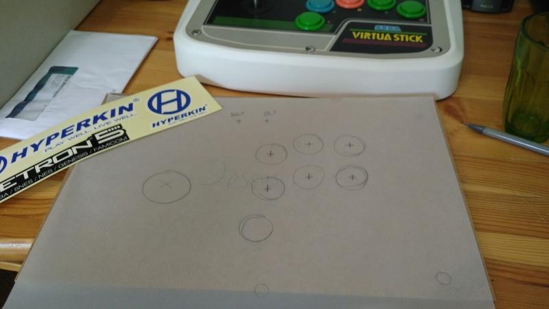 """Fabrication Stick Arcade """"Maison"""" pour super nes et Retron 5 Img_2011"""