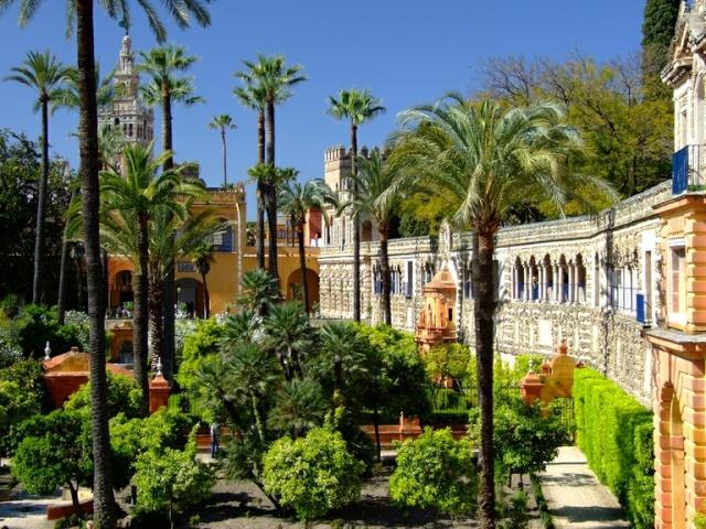 Espagne-Photos & cartes postales-us&coutumes - Page 2 Jardin10