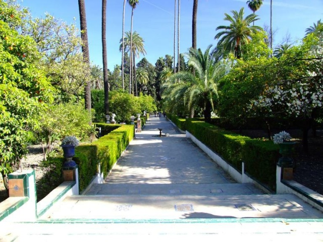 Espagne-Photos & cartes postales-us&coutumes - Page 2 Jardin11