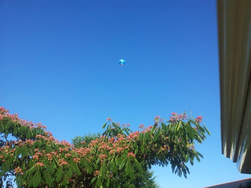 un ballon dans le ciel hier matin Mont_010