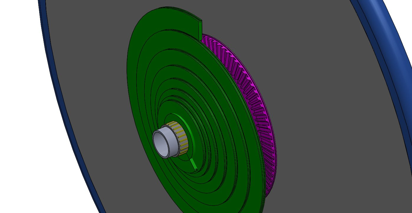 Roue arrière à 2 volutes (snek) pour stepper (velo, trike, VM..) Roue_v10