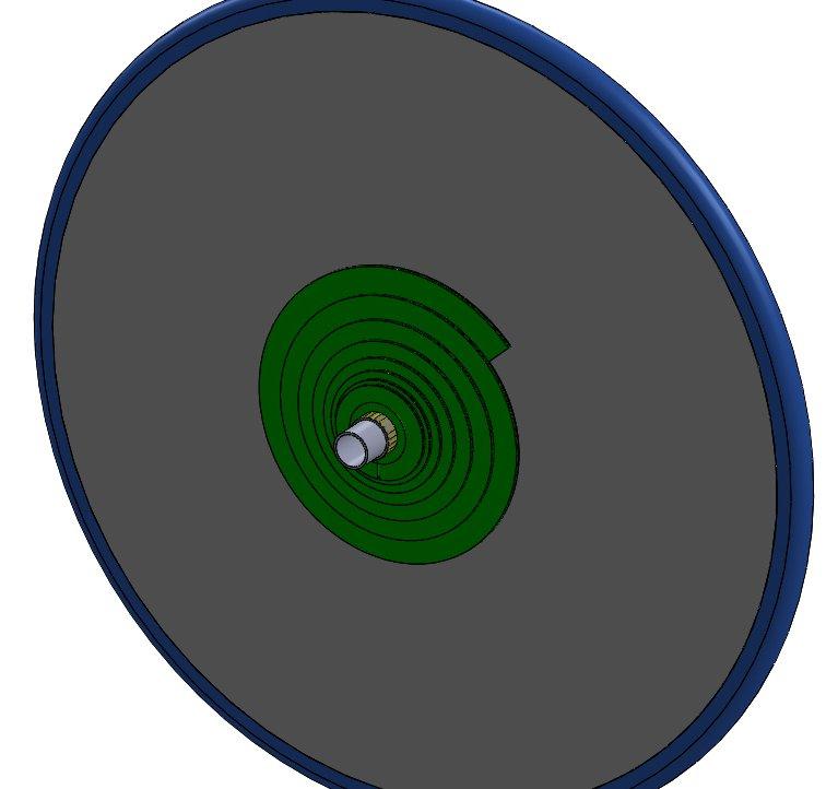 Roue arrière à 2 volutes (snek) pour stepper (velo, trike, VM..) Roue_v13