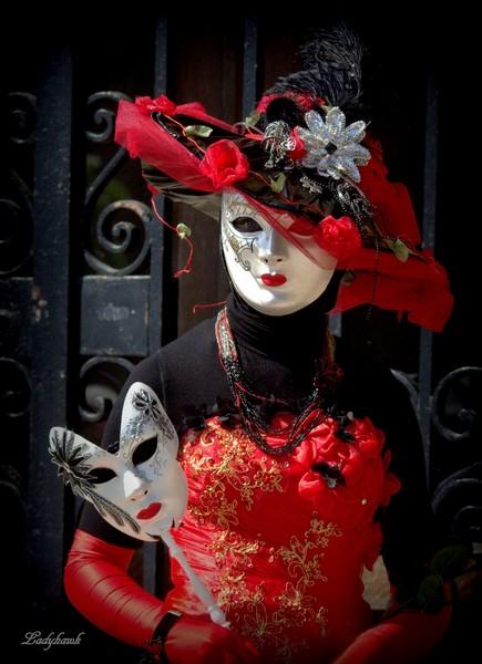 carnaval vénitien Rouge_10
