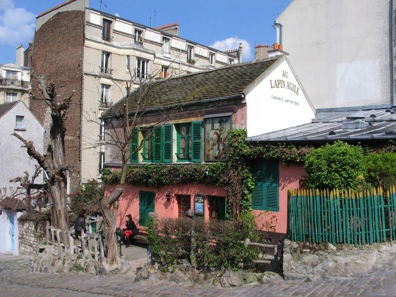 Le Cabaret du Lapin Agile, butte Montmartre, Paris XVIIIe. 44419310