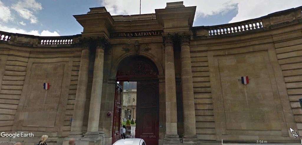 Mètre étalon, Paris Archiv10