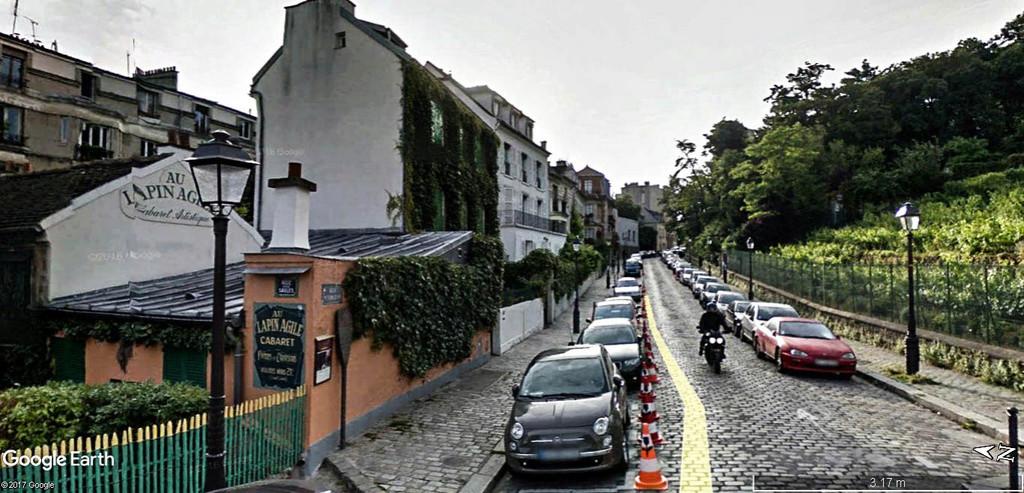 Le Cabaret du Lapin Agile, butte Montmartre, Paris XVIIIe. Au_lap10
