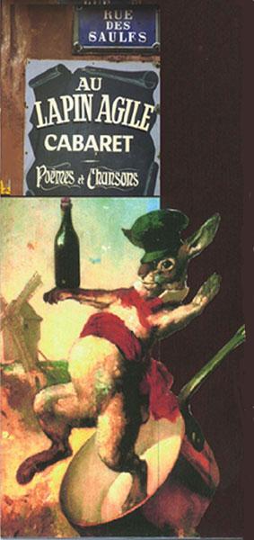 Le Cabaret du Lapin Agile, butte Montmartre, Paris XVIIIe. Lapin_10