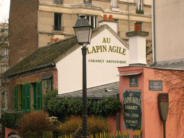 Le Cabaret du Lapin Agile, butte Montmartre, Paris XVIIIe. Lapin_11