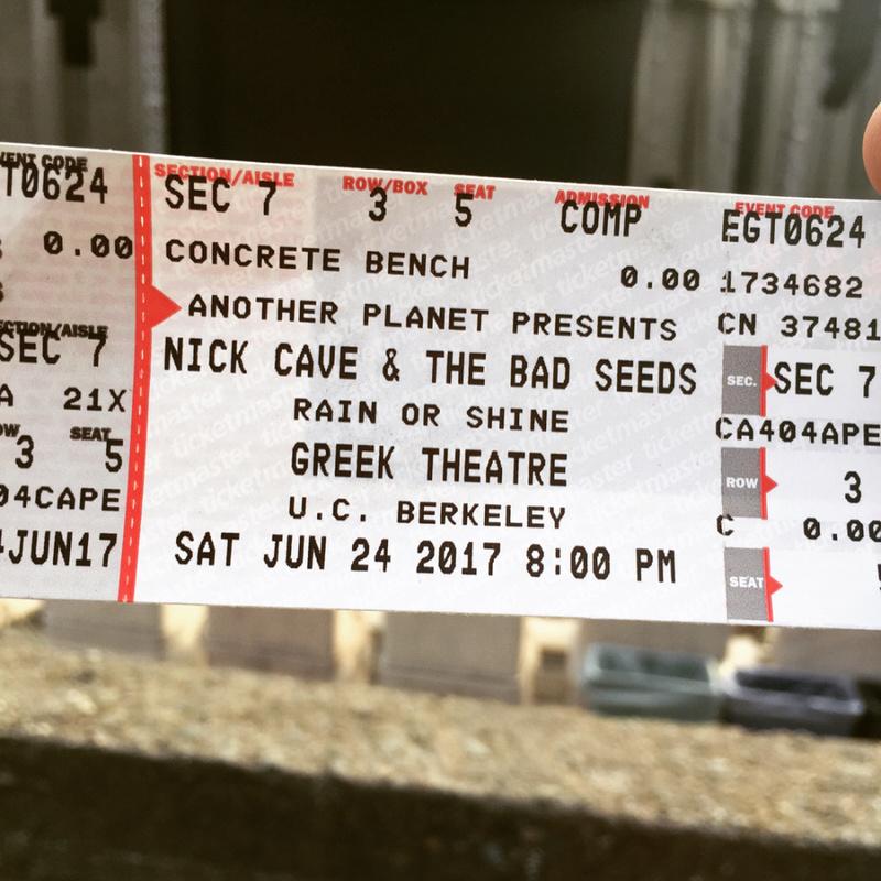 6/24/17 - Berkeley, CA, Greek Theater 111