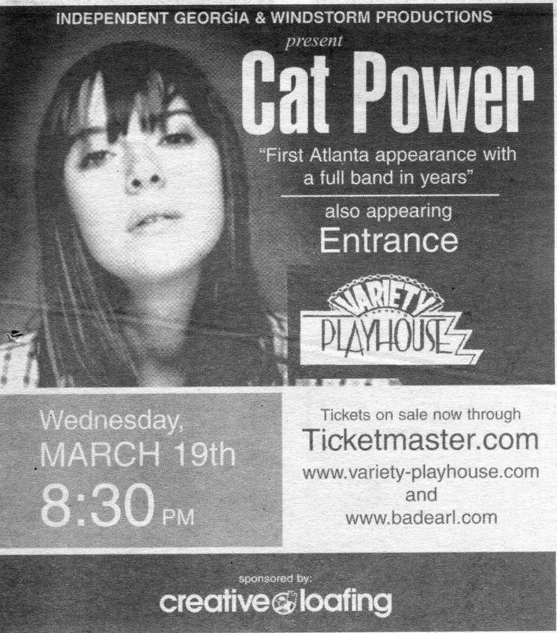 3/19/03 - Atlanta, GA, Variety Playhouse Img06612
