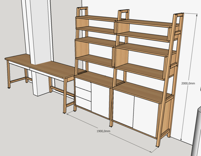 Ensemble bureau/meuble bas/bibliothèque - Page 3 Captur11