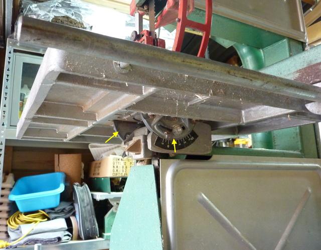 Pièce cassée sur Scie à ruban Kity 612 Sar111