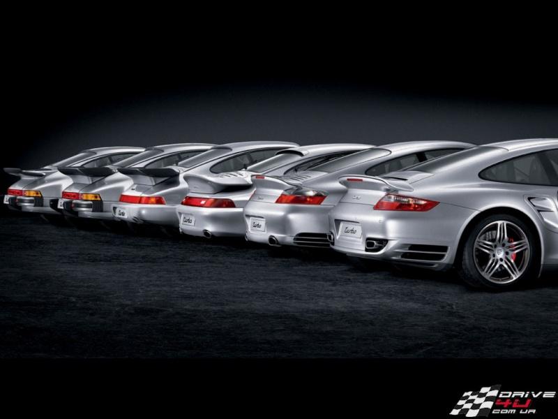 connue mais toujours sympa : evolution des modèles turbo 911_tu10