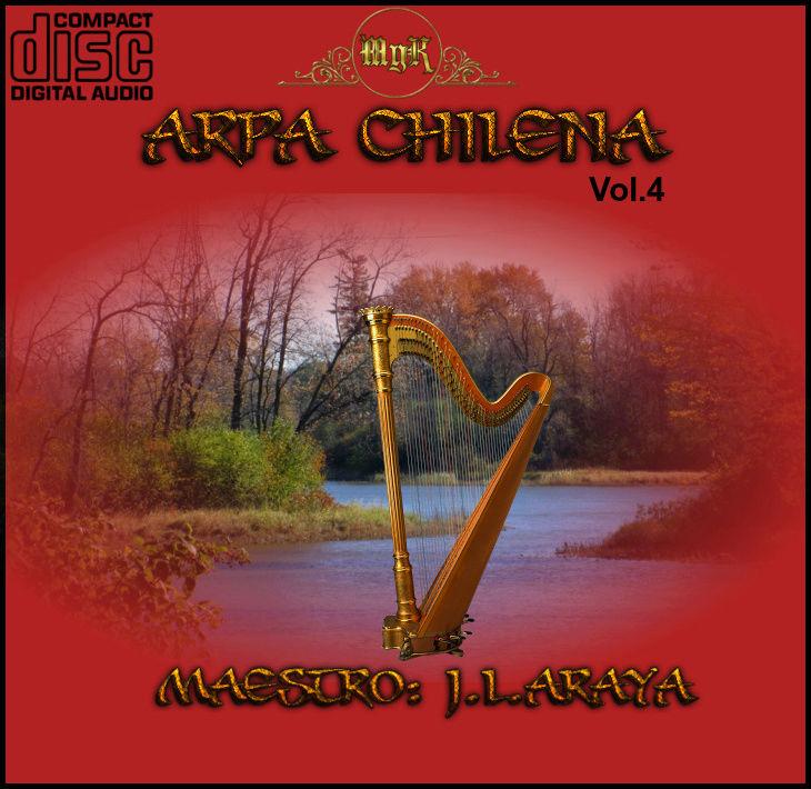 Cd  Maestro Josè Luis Araya- Arpa Chilena Vol.4 Arpa_c12