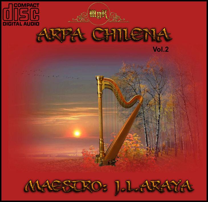 Cd Josè Luis Araya -Arpa Chilena Vol.2 Mjla-a10