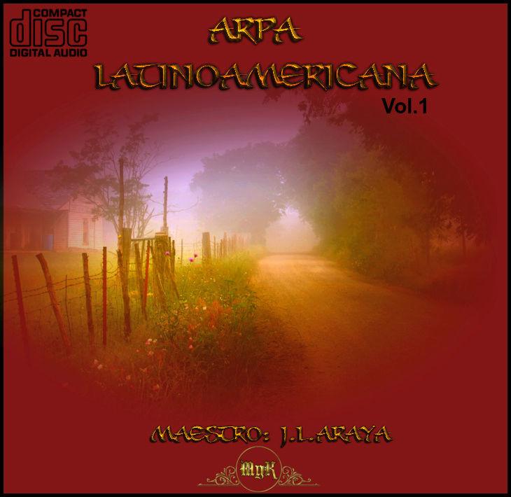 Cd Maestro J.L. Araya-Arpa latinoamericana  Vol.1 Uv5xwc10
