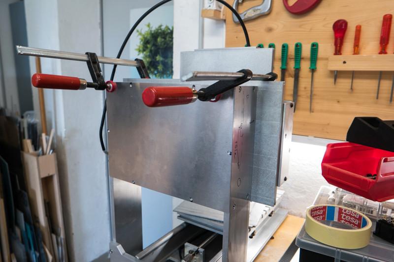 Modifications d'une fraiseuse CNC Kosy Sam_1510