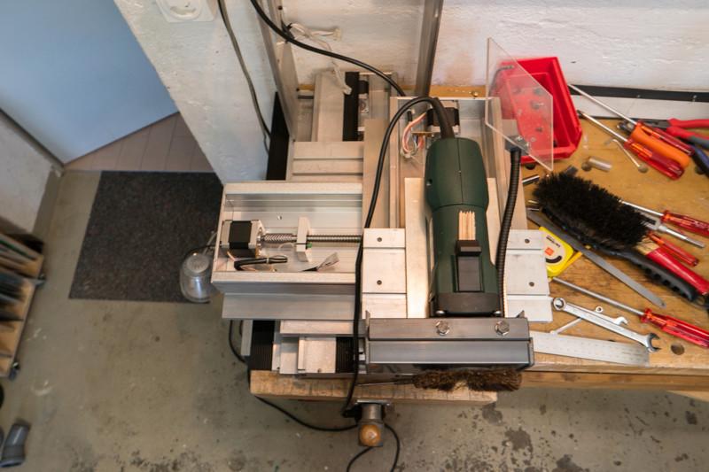Modifications d'une fraiseuse CNC Kosy Sam_4030