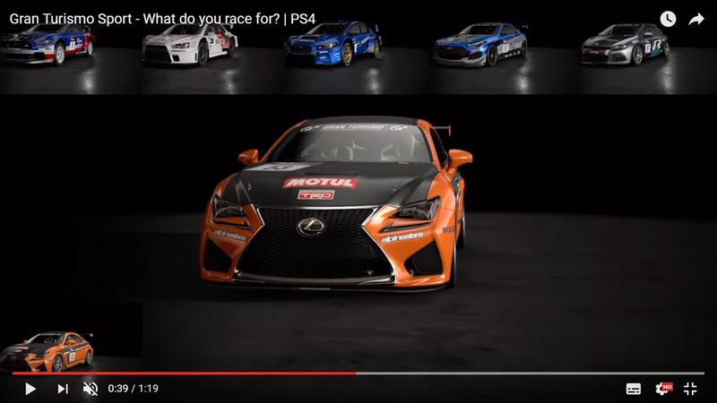 Liste autos & circuits (GT Sport) Lexus10
