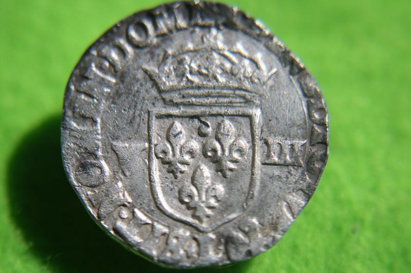 Huitième d'Ecu louis xiii 1622 Bayonne. Img_1514