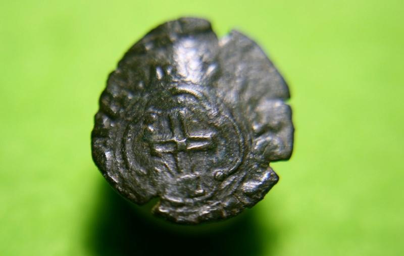 Henri II, denier tournois à la croisette Grenoble. Img_1615