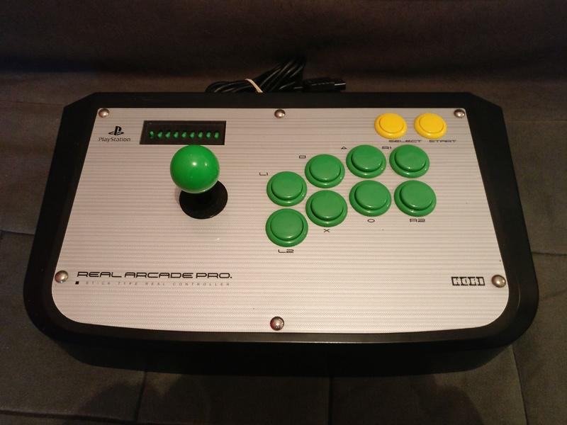 Stick hori Real arcade pro   Img_2015