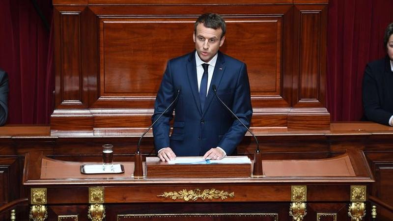 EMMANUEL MACRON PRESIDENT DE LA REPUBLIQUE FRANCAISE 20170710